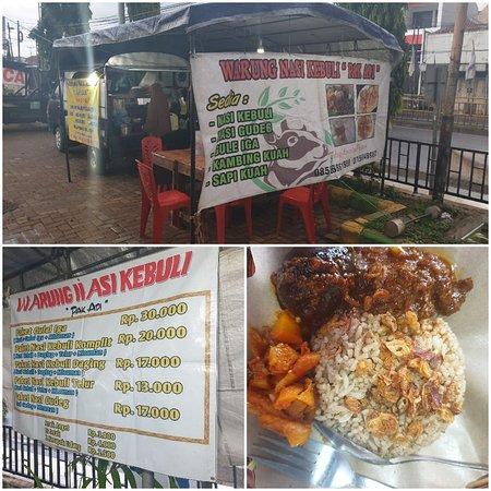 Batang, Indonesia: Warung Nasi Kebuli Pak Adi