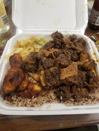 Jamaican Happy Me - Picture of Jerk City Jamaican Restaurant