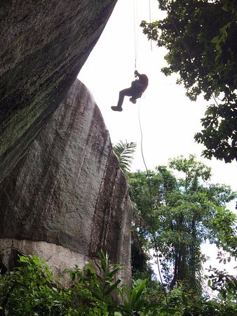 Get your adrenaline pumped when you jump off from Batu Jong, a magnificent rock formation located in Terengganu.