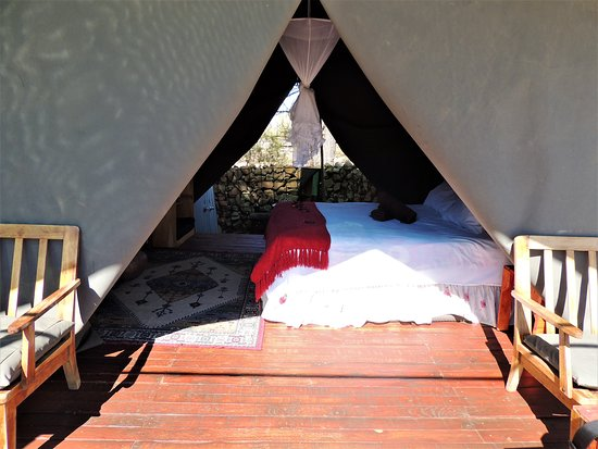 Usakos, Namibia: vista della tenda