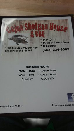VERY good BBQ and Homestyle cooking