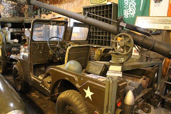 Petersburg, WV: Top Kick's Military Museum