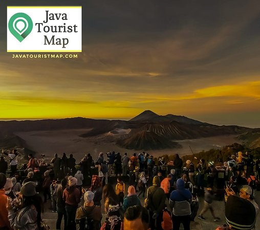 Java Tourist Map