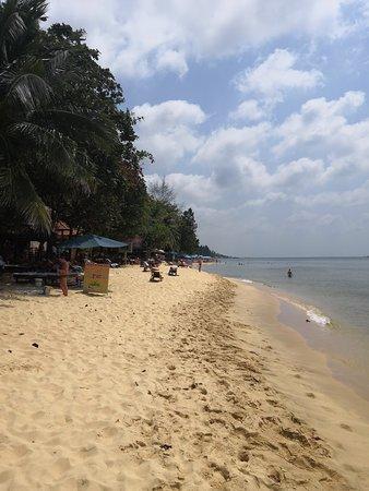 Kim Hoa Resort: пляж