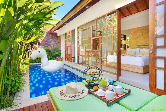 Manca Villa, hôtels à Canggu