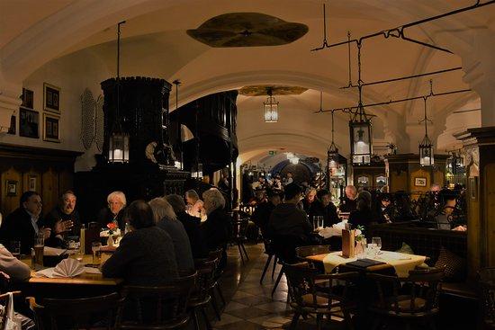Best Restaurant in Munich - beautiful decor and wonderful German cuisine.
