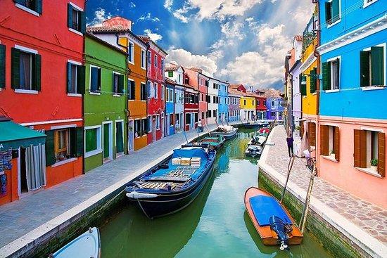 Murano,Burano和Torcello:北部泻湖公共之旅的珍珠