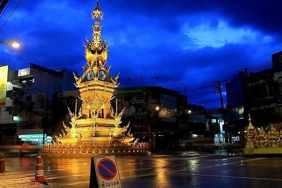 Chiang Rai por la noche con...