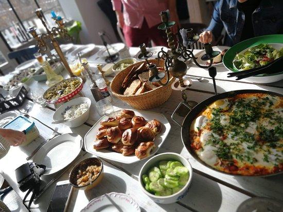 Wlen, Polen: śniadanie na Polnej Zdrój
