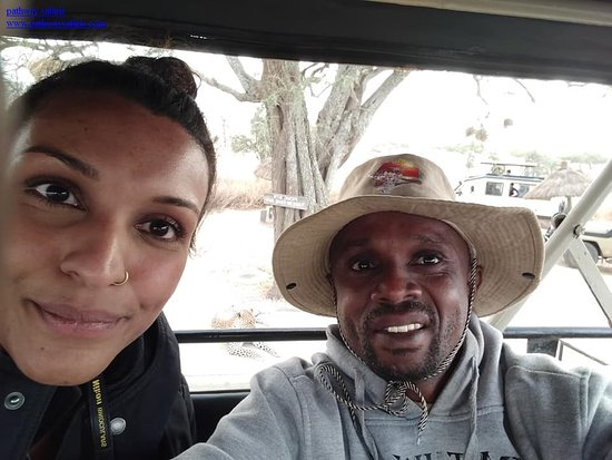 Game drive inside Lake Manyara National park with oour guest.