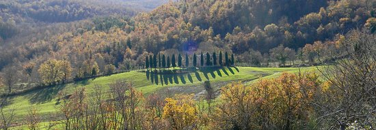 Castelnuovo di Val di Cecina, Italija: Viste panoramiche spettacolari