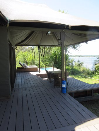 Great luxury tented lodge