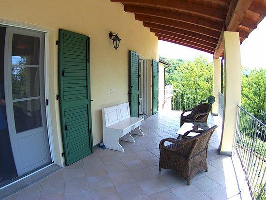 Bagnone, Włochy: Portico/Terrazzo