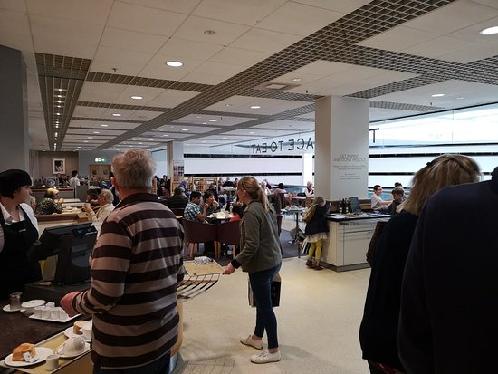 Lunch Treat Review Of John Lewis Place To Eat