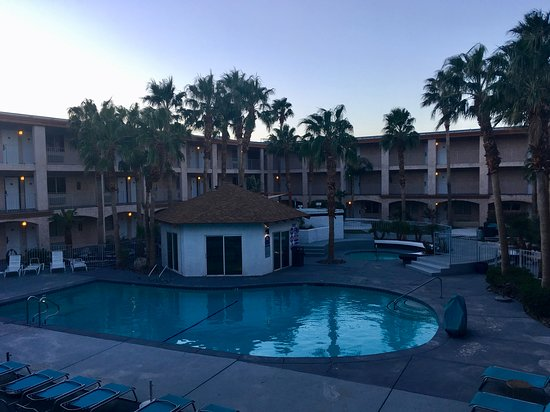 Perfect rooms, great location, heated pools!