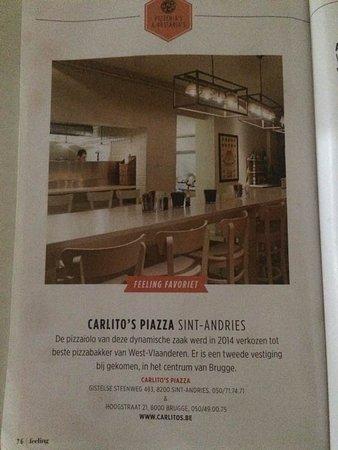 Sint Andries, Belgia: Mejor restaurante italiano