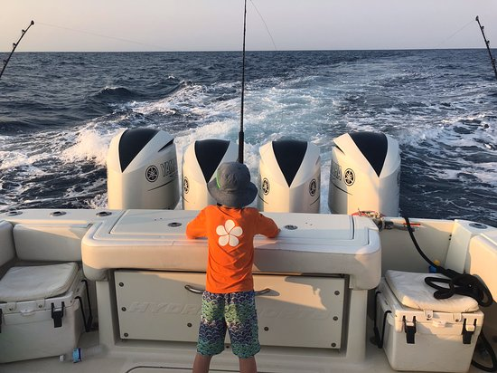 Deep sea fishing for all ages and a big clean boat to enjoy!