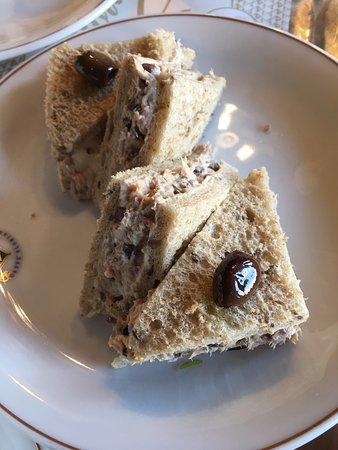 Club sandwich thon - olive