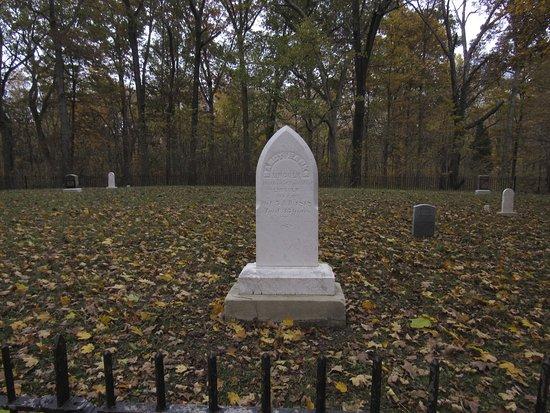 Lincoln City, IN: Nancy Hanks Lincoln gravesite
