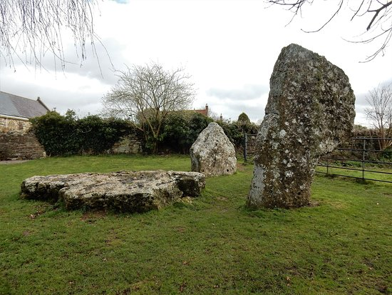 Large stones at Stanton Drew stone circles