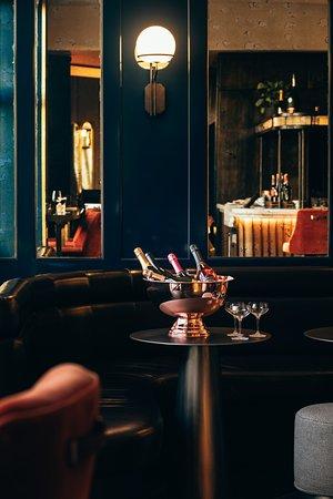 Axe Lounge Bar Warm ambiance