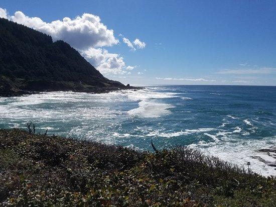 Yachats coastline
