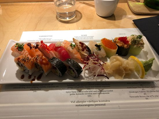 Fresh and good sushi of good quality