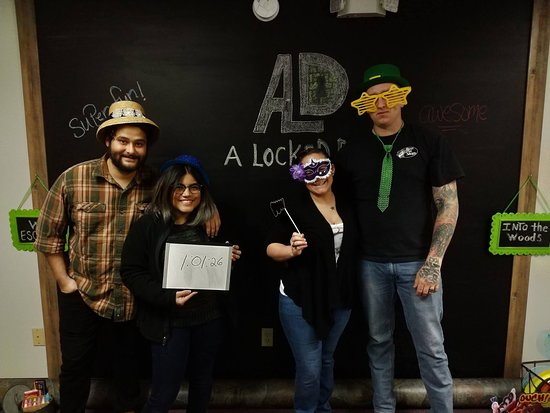 A Locked Door Escape Room Adventure Game