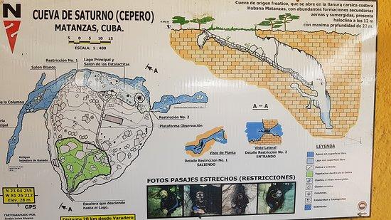 Saturno Cave map - Picture of Saturno Cave, Varadero - TripAdvisor on
