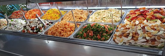 FRESH DAILY MADE SALADS