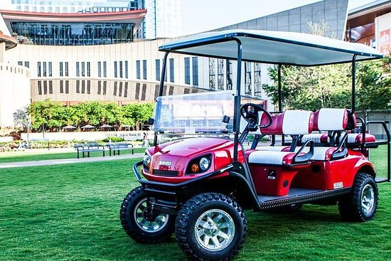 Downtown Nashville Transport By Golf Cart Provided By