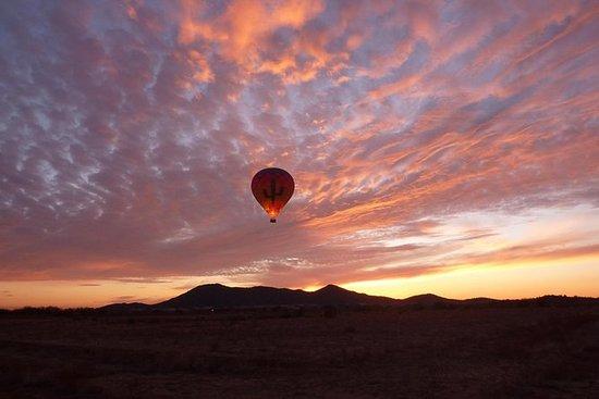 凤凰热气球日落骑