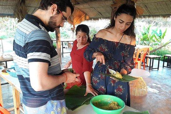 Aula de Culinária na Aldeia Local
