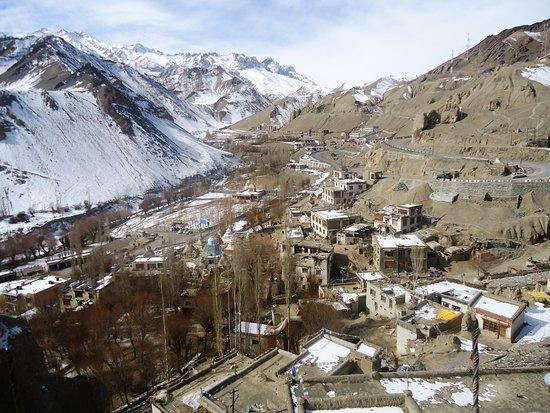 Lamayuru, Ladakh from monastery on 05/02/2019