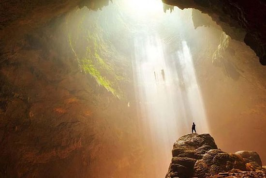 Yogyakarta Jomblang Cave Adventure...