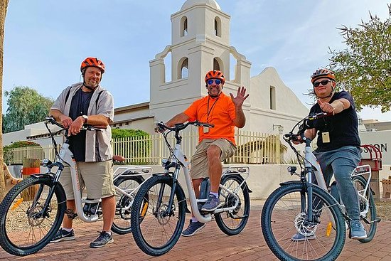 Easy Electric Bike Tour of Scottsdale...