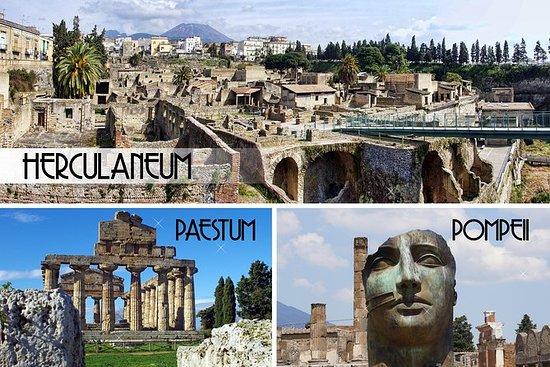 Pompeii, Herculaneum og Paestum...