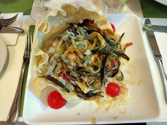 Batubulan Sunset Grill: plat thaï curry coco