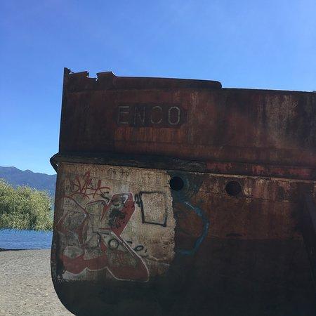 Choshuenco, Cile: Un hermoso lugar para descansar, y ver la belleza del Enco aunque se  está deteriorando con El Paso del tiempo