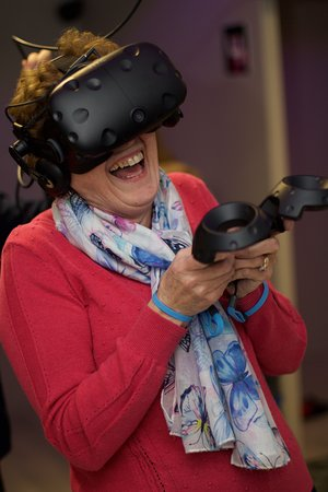 My 72 year Old Mum, Val. It's not just for the young or gamers...