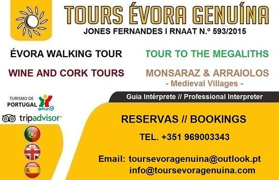 Tours Evora Genuina