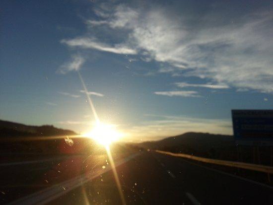 Basilicata, Italia: ...dalla strada Basentana (S.S.407) direzione Potenza nei pressi di Grassano scalo (MT)- tardo pomeriggio di oggi 10.03.2019