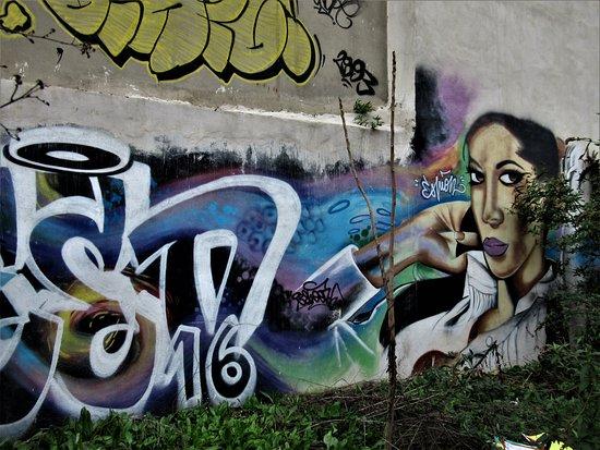 Fresque Femme fatale