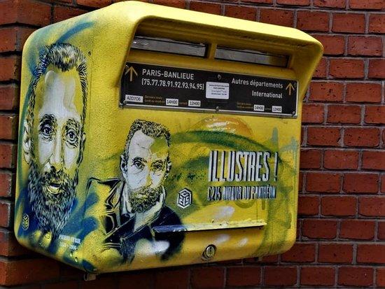 Fresque Pierre Curie