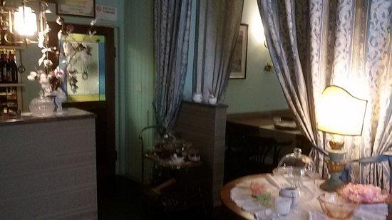 Locanda Senio: sala da pranzo