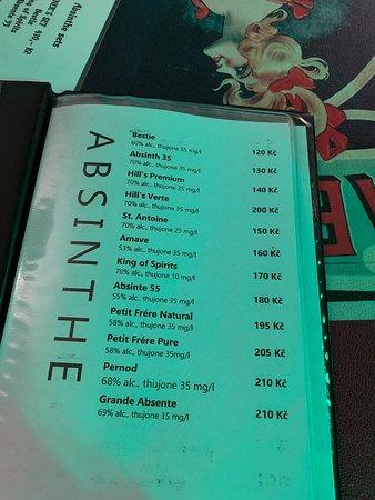 Бар Absinthe-Time - Picture of Absinthe Time, Prague - TripAdvisor