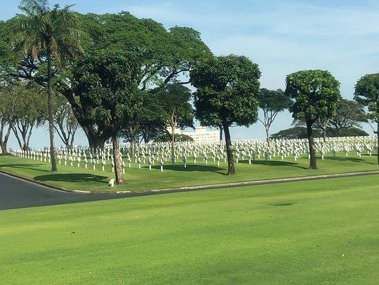 Cimitero e memoriale americano a Manila