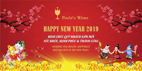 Paula's Wines: Happy NewYear and Happy Tet!