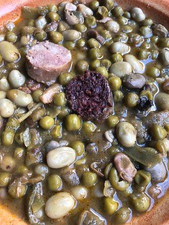 Habas, guisantes y judías verdes a la catalana