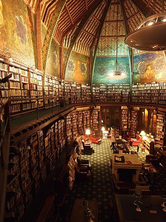 The Oxford Union Society Library and Murals